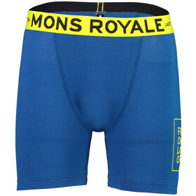 Mons Royale M's Hold 'em Boxer Oily Blue